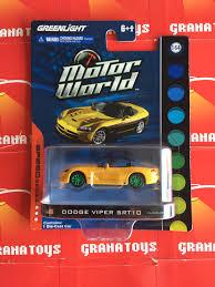 Dodge Viper Green - dodge viper srt10 green machine greenlight motor world speed