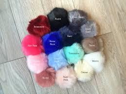 Baby Keychains Faux Fur Pom Pom Keychains Furry Key Chains Large Fur Balls