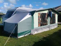 Used Caravan Awnings Trio Family Size 14 Full Caravan Awning And Bedroom Annexe In