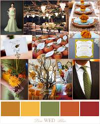fall colors for weddings fall wedding colors pumpkin mustard terracotta