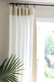 How To Hang A Drapery Scarf by Coffee Tables How Far Should A Curtain Rod Extend Past Window