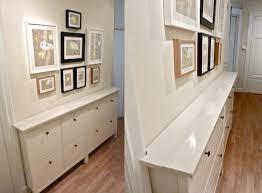 étagère derrière canapé hemnes shoe cabinet idées déco aménagement intérieur
