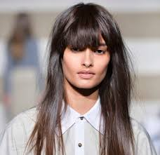 long dark hair fringe 1000 ideas about full fringe hairstyles on