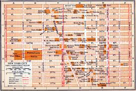 Map Manhattan New York City Map Manhattan At Map Of Ny City Streets Thefoodtourist