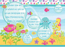 the sea baby shower invitations baby shower invitation cards the sea baby shower invites