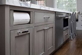 kitchen cabinets gray stain transitional white kitchen with grey blue stained island