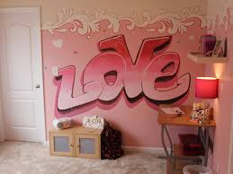 kids room unbeaten pink and red wall paint designs for small