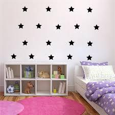 online shop gold stars wall decal vinyl stickers golden star kids