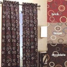 Black Out Curtain Panels Amazon Com Solar Modern Print Blackout Curtain Panels 54