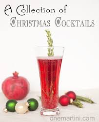 a collection of christmas cocktails holiday cocktails hangzero