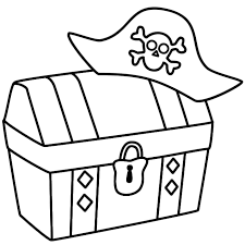 treasure chest pirate hat gif 650 650 pirates