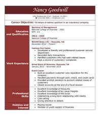 Amazing Resume Examples by Amazing Resume Company 12 16 Free Cashier Resume Samples In