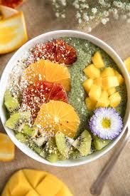 Fruit Bowl by Matcha Chia Pudding Fruit Bowl U2014 Coffee U0026 Crayons