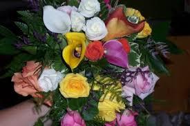 calla bouquet multi colored calla lilies bridal bouquet in new orleans la