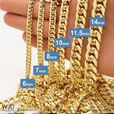 cuban chain necklace gold images 14k yellow gold hollow 10mm miami cuban chain necklace 26 best jpg