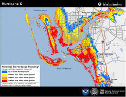 Central Florida Map by When Next Hurricane Hits Storm Surge Will Be Mapped Climate Central