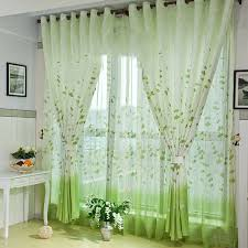 Green Bedroom Curtains Aliexpress Com Buy 2017 Country Style 3d Curtains Elegant Living
