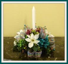 discover the beauty of floral christmas centerpieces