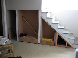 Staircase Design For Small Spaces Excellent Under Stairs Storage Ideas For Small Spaces Photo