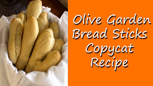 Olive Garden Family Style Olive Garden Bread Sticks Copycat Recipe Youtube