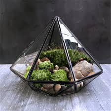 aliexpress com buy minimalism diamond shape hanging glass
