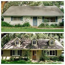 20 home exterior makeover before and after ideas home home exteriors before and after 20 home exterior makeover before