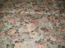 Shabby Chic Upholstery Fabric Floral 1 2 Metres Craft Fabrics Ebay