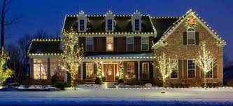 Outdoor Christmas Decorations Usa by Residential Christmas Light Installation