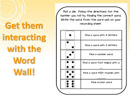 word walls and pwim enhancing your language arts program ppt