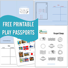 printable country stickers free printable passports country sts
