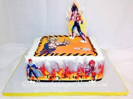 dragon ball z cake cake by cake u0027d by niqua cakesdecor