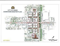 downtown master plan ennis