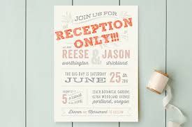 wedding reception invitations wedding invitations for reception only wording ideas