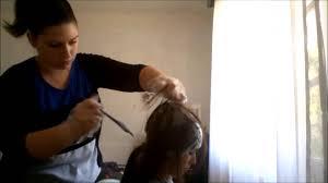 prix d un balayage sur cheveux mi long coiffure mèches au bonnet youtube