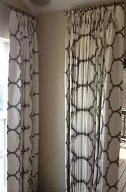 Hanging Curtains High And Wide Designs Drapes Gallery Creative Threads Inc New Dining Table
