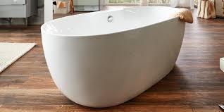Freistehende Badewanne Freistehende Badewanne Weiß Kiel Aus Hochwertigem Acryl