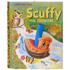 golden books scuffy the tugboat ornament keepsake