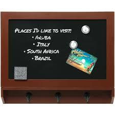 wicker basket with chalkboard ex lg framed magnetic chalkboard