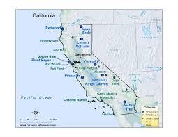Map Of Yosemite Nps Explore Nature Air Resources Division U2013permits Aris U2013state