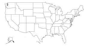united states of america map with alaska and hawaii us state map with alaska map united states america 7990699
