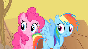 Pinkie Pie And Rainbow Dash Image Pinkie Pie And Rainbow Dash Astonished By Spike S Rapport