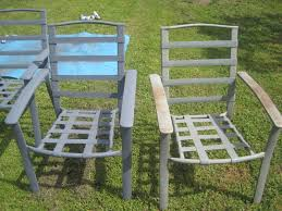 Painting Vinyl Chairs Vinyl Straps For Patio Chairs Home Outdoor Decoration