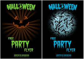 halloween partyflyer chrisdesign blog