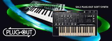 roland sh 2 plug out synthesizer yazılımı