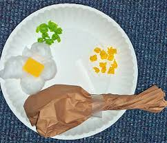 thanksgiving turkey dinner paper craft this is a simple