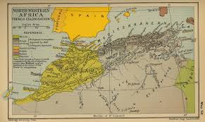 Map North Africa by Of Northwestern Africa French Colonization 1847 1912