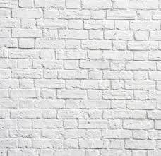 faux white brick wallpapers wallpaperpulse