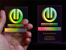 Clear Business Cards 10 Cool Transparent Business Cards Printaholic Com