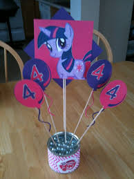 my pony centerpieces 80 best my pony party ideas images on birthday