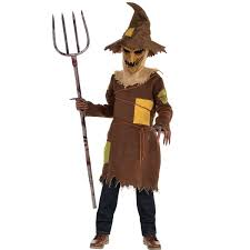Kid Scary Halloween Costumes Boys Scary Scarecrow Costume Holly Scary